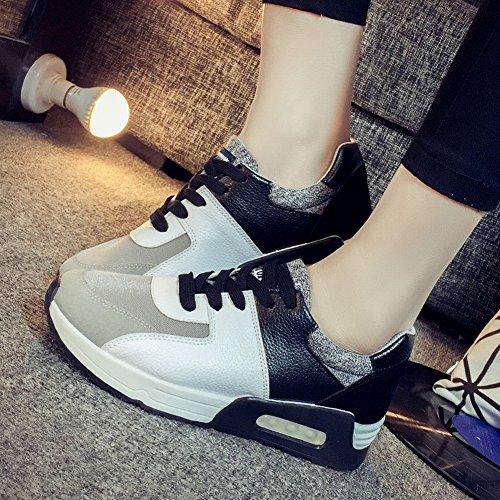 Lucha Cojín Color EUR36 Deportivos Mujeres Zapatos 5 Zapatillas Mujeres Aire Estudiantes Ocio Zapatos negro 4dIRI