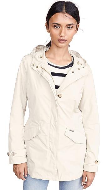 cheaper 15c9e d7fe3 Amazon.com: Woolrich Women's Summer Parka, Oatmeal, Off ...