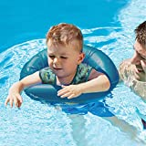 Swim School- Confidence Building System 2-in-1 Tot Trainer and Baby Boat, Blue