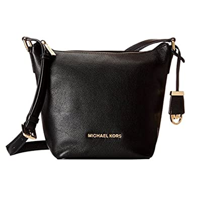 c72414ff7984c7 Image Unavailable. Image not available for. Color: MICHAEL KORS Bedford  Medium Leather Crossbody ...