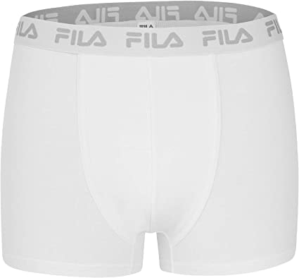 TALLA L. Fila 2 Paquete - Básica de Hombres Bóxer Shorts, algodón Ajustados Logo, fu5004