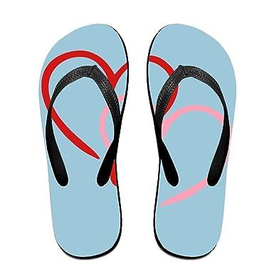 b926d3c176db3 Creative Heart Hearts Love Unisex Comfortable Beach Flip Flops Sandals  Slippers Sandal For Home   Beach