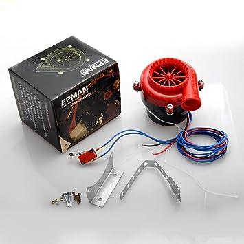 S Fake Válvula de descarga electrónico Turbo Interruptor de ...