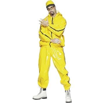 Traje de rapero atuendo música gánster vestuario  Amazon.es ... 112b05fd85b