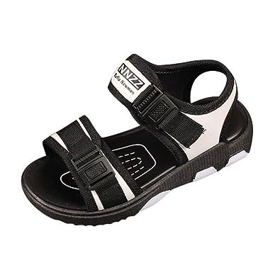 ALIKEEY Sandales de Sport pour Enfants Velcro Sandales Chaussures de Plage  Chaussures de Sport Été Enfants 492c4b472c4