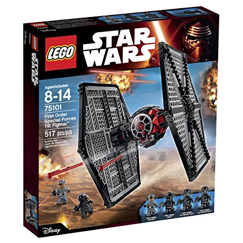 Lego Star Wars 75101 First Order Special Forces Tie Fighter Building Kit (Discontinued By Manufacturer)