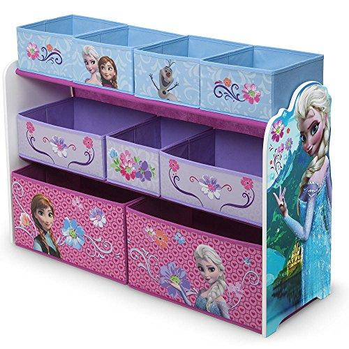 Delta Deluxe 9-Bin Toy Organizer - Disney Frozen Pack of 2 (Frozen Multi Bin Organizer compare prices)