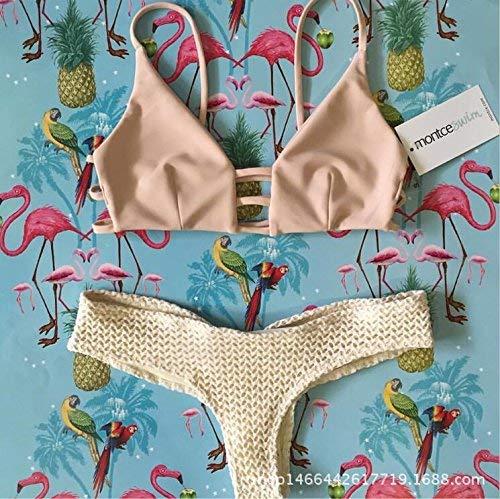 Bikini Backless Di M L colore Maglia Esplosione Nuovi Della Dimensione I Spiaggia Oudan Modo wzAEUE