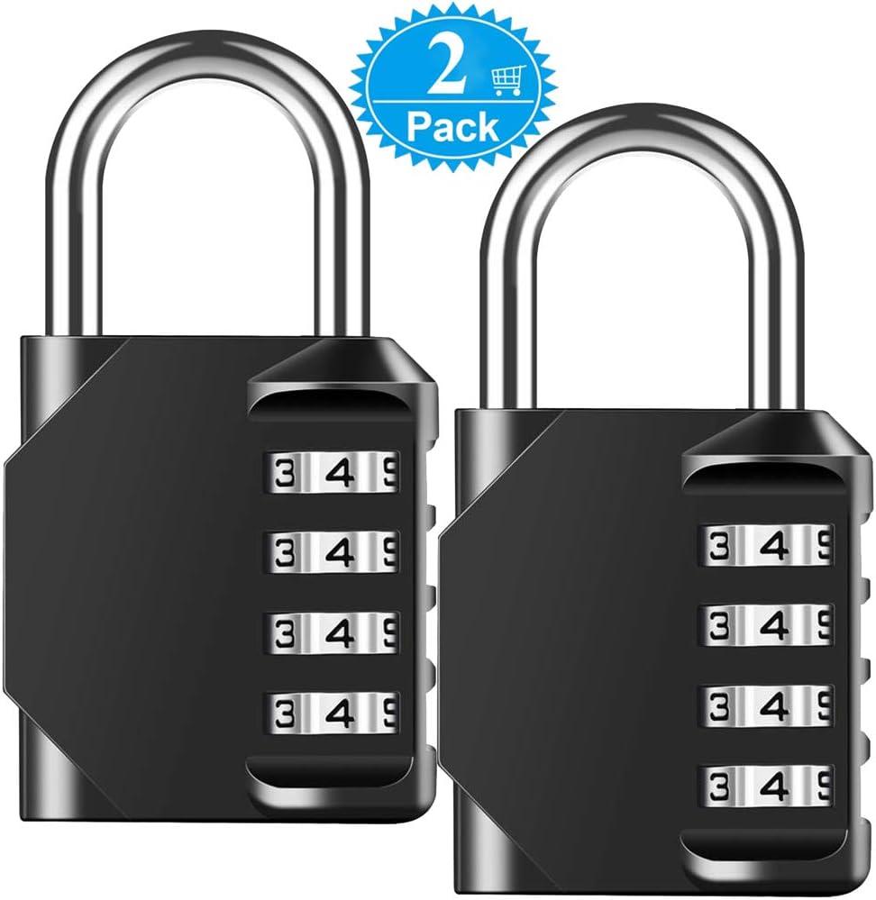 Combination Lock 10 Digit Padlock for School Gym Locker,Luggage Sports 02