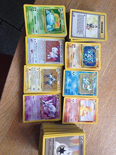 100 Assorted Pokemon Trading Cards with Bonus 6 Free Holo Foils