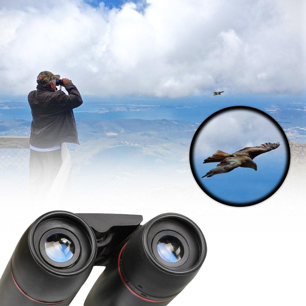 escalada plegable 30/x 60/Zoom para la observaci/ón de aves caza Viajes Sightseeing para d/ía y noche factor de forma peque/ño Furado Mini de prism/áticos Exterior