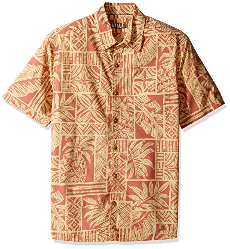 Kahala Men's Hale Kahiki Relaxed Fit Hawaiian Shirt, for sale  Delivered anywhere in USA