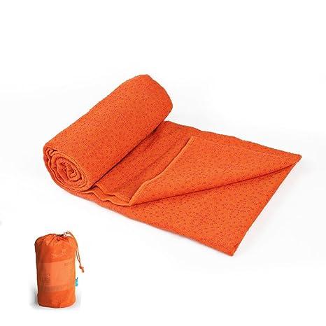 Antideslizante Yoga Mat --- Microfiber + dispensador de ...