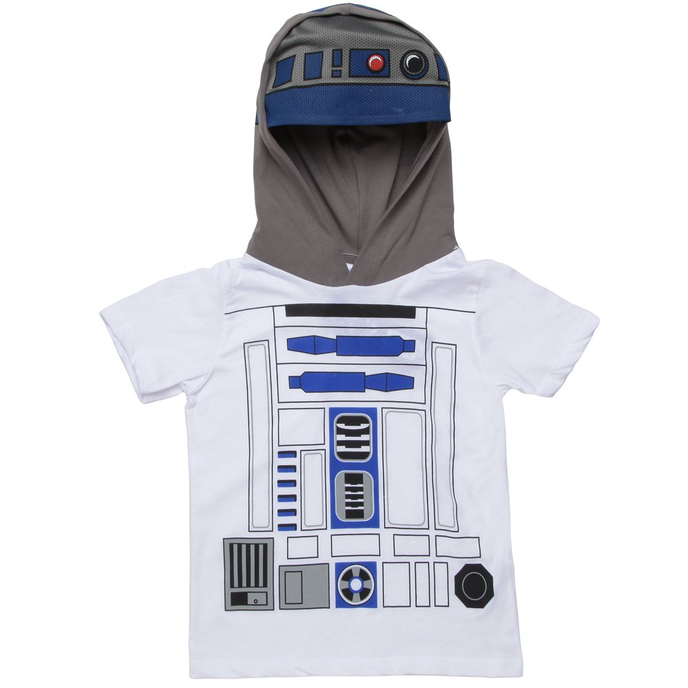 Star Wars I Am R2D2 Hooded Youth T-shirt (Small)