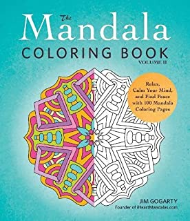 2 The Mandala Coloring Book Volume II Relax Calm Your Mind