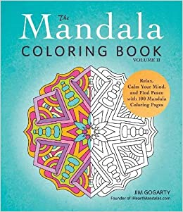 Amazoncom 2 The Mandala Coloring Book Volume II Relax Calm