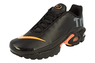 sports shoes 75704 5d7f0 Nike Juniors - Air Max Plus TN SE BG - White Orange - AR0005 ...