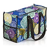 All Purpose Utility Tote Bag (Floral Medallions)