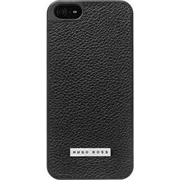 save off 2362d 03935 HUGO BOSS Cosine Hard Cover Case for Apple iPhone SE 5/5S - Black