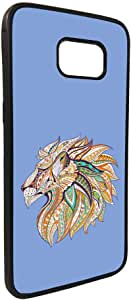 Abstract art - Lion Printed Case forGalaxy S7 Edge