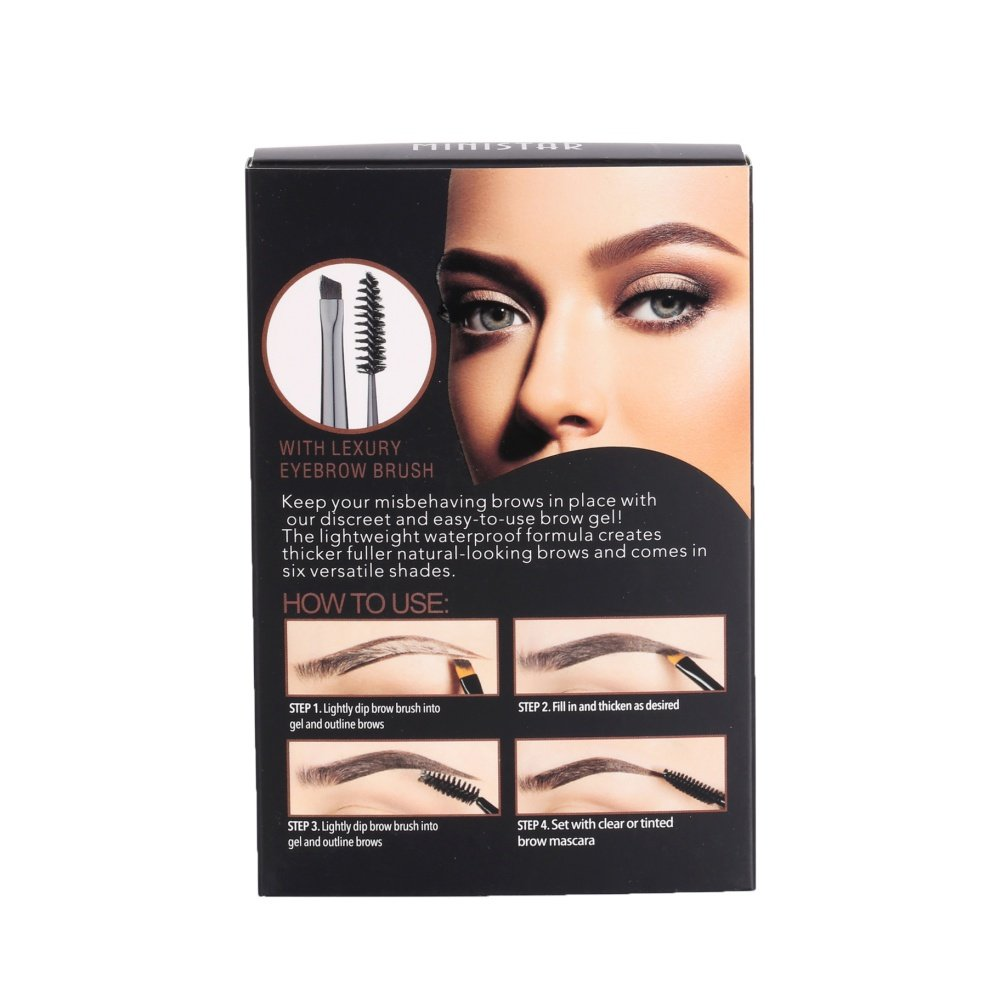 Amazon.com : Luxsea Mascara Gel Waterproof Eye Brow Gel Pro Eyebrow Enhancer Eyebrow Cream With Brush : Beauty