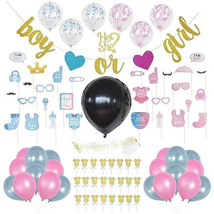 Amazon.com: Box Party - Juego de accesorios y decoraciones ...