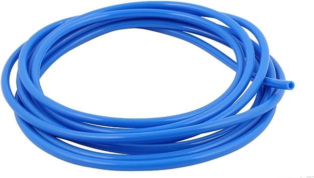 sourcingmap/® Tubo Pu de Poliuretano Neum/ática de Aire de Aire Manguera Azul 5M de 8mm Di/ámetro Exterior 5mm Di/ámetro Interior
