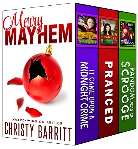 Merry Mayhem: Three Cozy Christmas Novellas cover