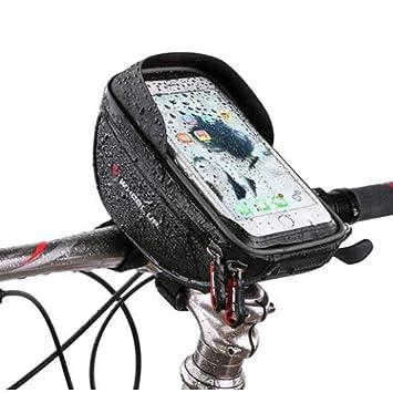 Selighting Bolsa Bicicleta Manillar Impermeable Bolsa Móvil de Bici Montaña BTR Carretera Bolso Delantero de Bicicleta