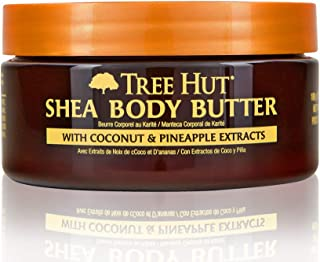 product image for Tree Hut 24 hour Intense Hydrating Shea Body Butter Coco Colada, 7oz, Hydrating Moisturizer with Pure Shea Butter for Nourishing Essential Body Care