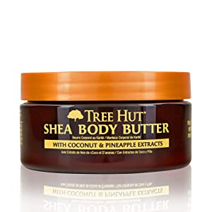 Tree Hut 24 hour Intense Hydrating Shea Body Butter Coco Colada, 7oz, Hydrating Moisturizer with Pure Shea Butter for Nourishing Essential Body Care