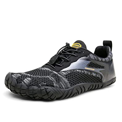shop amazing price new collection Oberm Men's Minimalist Trail Running Shoes Wide Toe Box Barefoot Trainers  Water Shoes