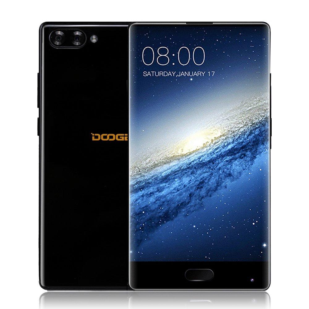 DOOGEE MIX 4G FDD-LTE Smartphone Android 7.0 5.5 Pollici Octa-core 2.5GHz 6GB RAM 64GB ROM Doppia Fotocamera Posteriore16.0MP + 8.0MP Front 5.0MP Batteria 3380mAh Impronta Digitale Dual Sim Carica Rapida