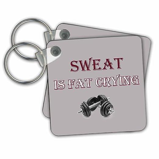 Amazon Com Rinapiro Funny Quotes Sweat Is Fat Crying Gym