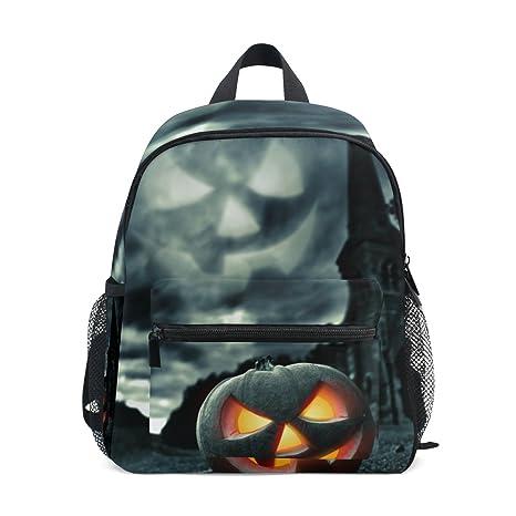 COOSUN Kinder de Miedo Noche de Halloween Mini Mochila Kids Pre-School Bolsa Niño