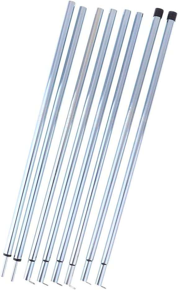 P Prettyia Kit de Reemplazo de Varillas para Bastones de Carpas de Hierro Repuetso