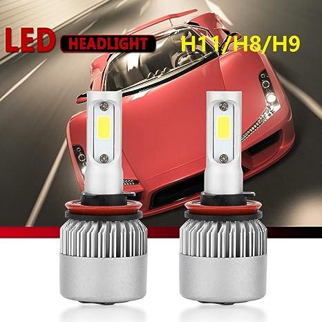 180W High Power H8 H9 H11 6000K White LED Car Headlight Conversion Bulb Beam Kit