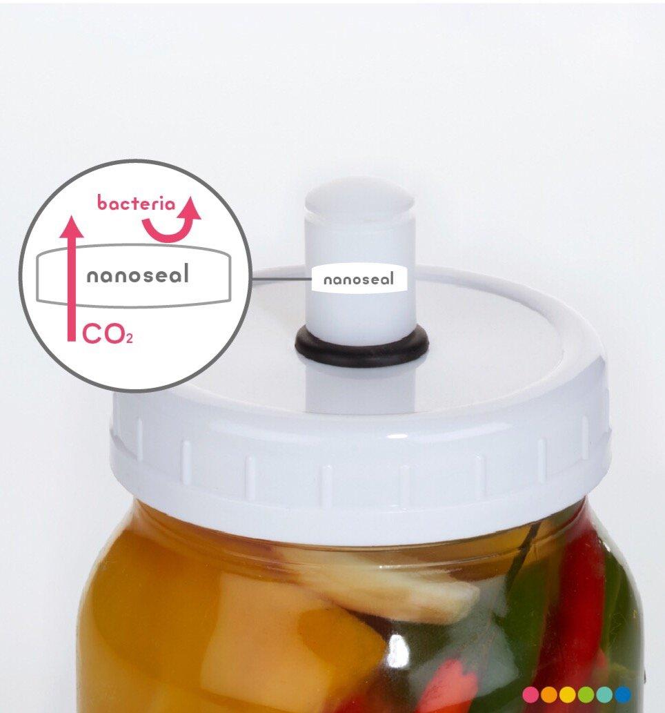 /di fermentazione Sterilock Kilner//kit fermentazione/