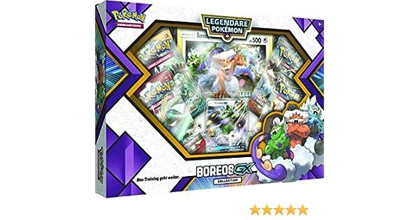 Pokémon Company International 45005 PKM boreos voltolos de GX Caja Cartas coleccionables: Amazon.es: Juguetes y juegos