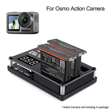 Osmo Action Camera Cargador de batería 3 en 1 Multi Rapid ...