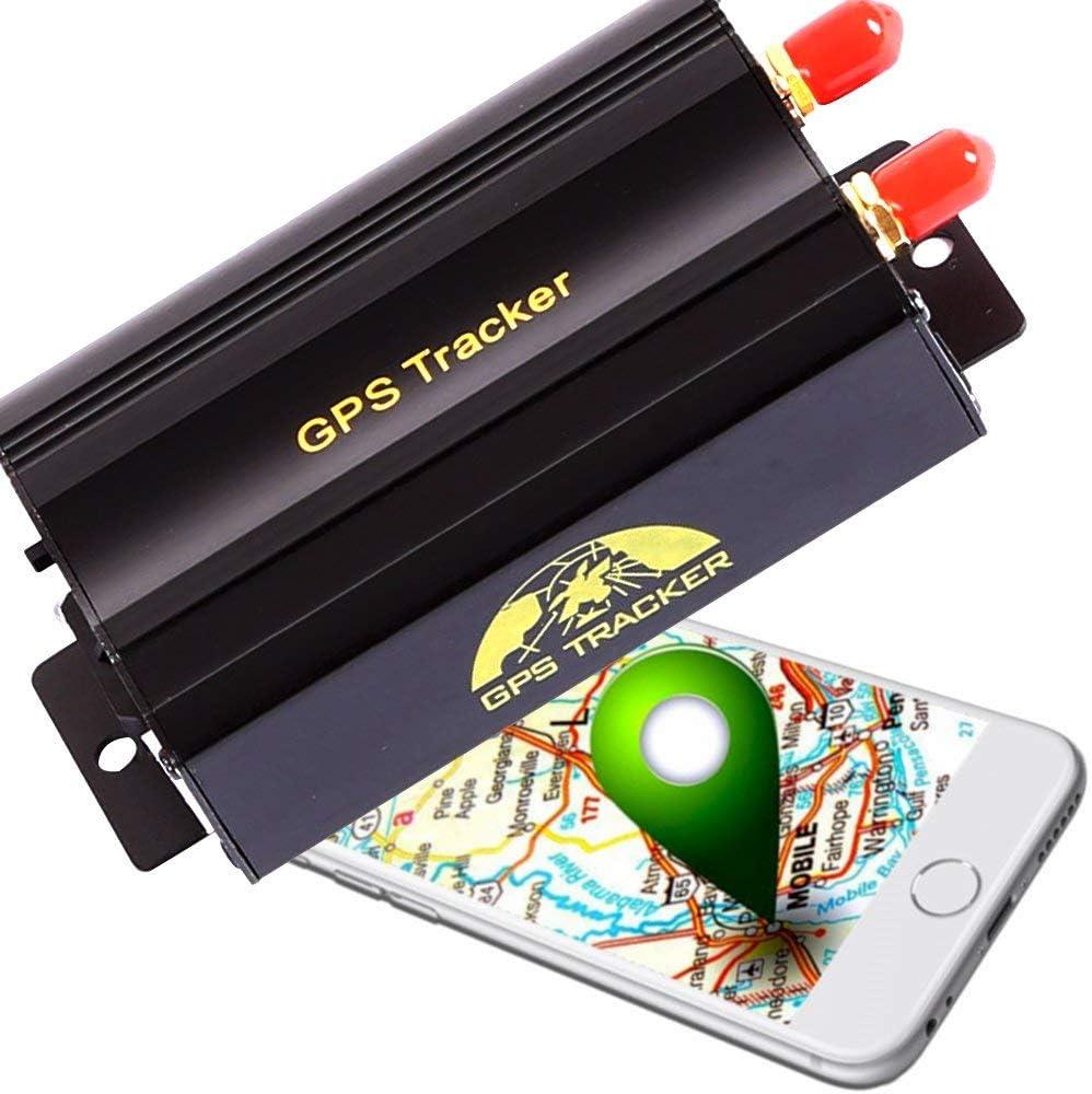 After partz Ovo–adc-103b profesional Auto Moto Tracker Localización antirrobo + Mando a distancia Localización GPS GSM GPRS