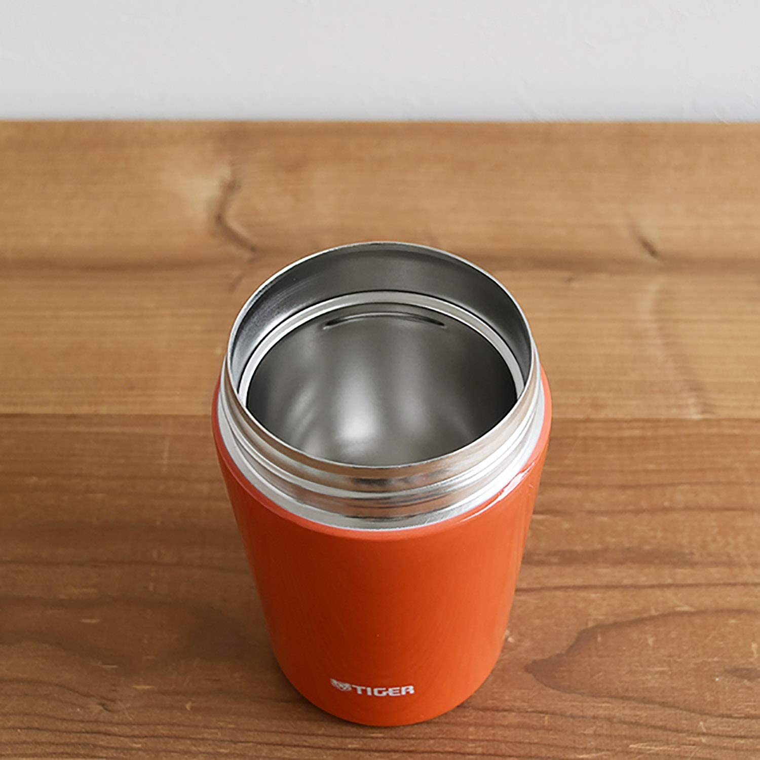Tiger thermos vacuum insulation soup jar 380ml warm lunch box MCL-B038-RC