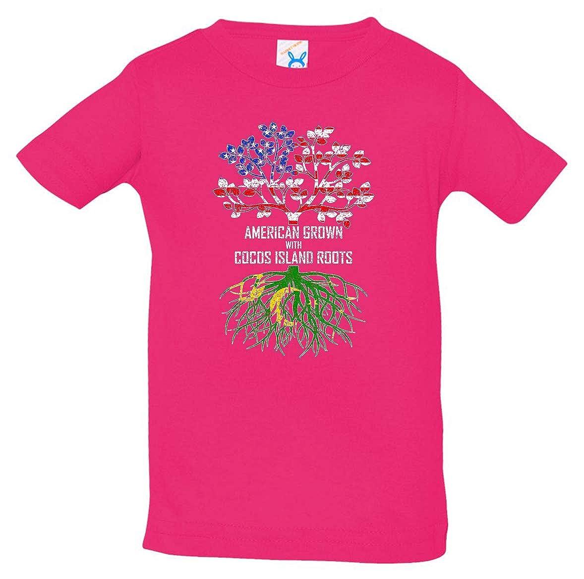 Tenacitee Babys American Grown with Cocos Island Roots Shirt
