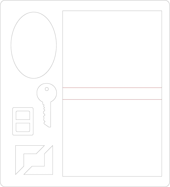 Adorned Tile by Jen Long Sizzix 3-D Textured Impressions Embossing Folder 664426