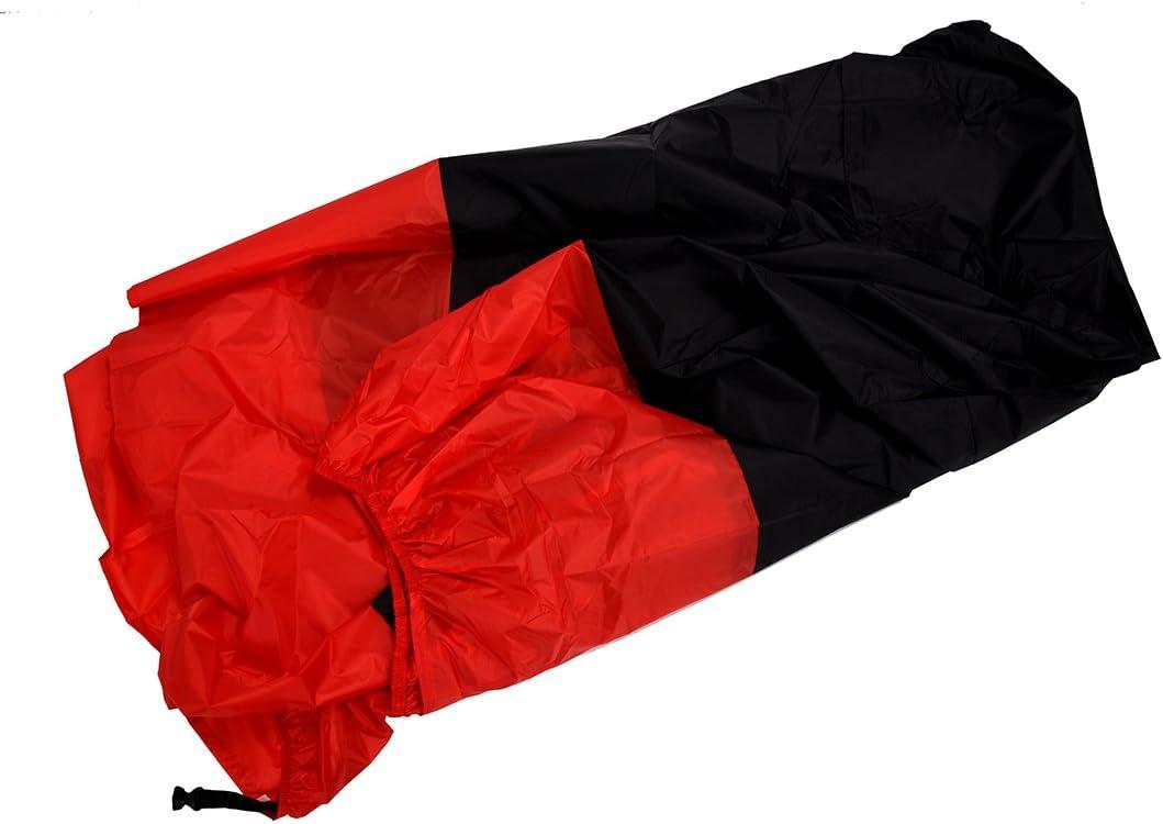 Rouge Beauneo Housse de Anti-poussiere UV de Pluie en Couvre Impermeable de Moto,de Bicyclette XXL