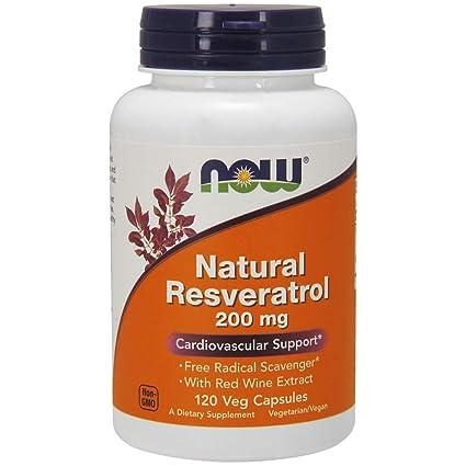 Natural Resveratrol - Mega Potency 120 vcaps