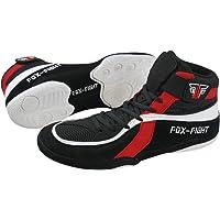 FOX-FIGHT - Zapatillas de Lucha Libre de Piel