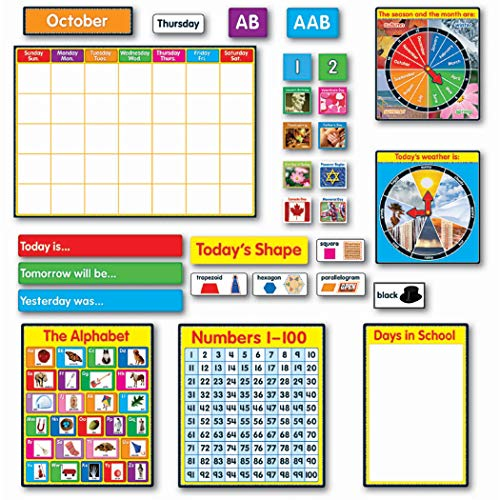 (Carson Dellosa Morning Meeting Solution Bulletin Board Set (110115))