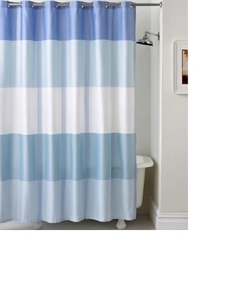 Amazon.com: Martha Stewart Collection Encore Stripe Shower Curtain ...