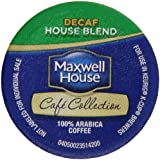 Maxwell House Café Collection Coffee, Decaf K-Cups, 5.57 oz.